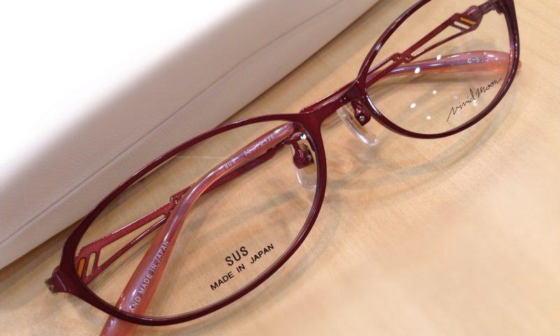 ビビッドムーン 品番:VM-11163 カラー:990(プラム) レンズサイズ:52ミリ