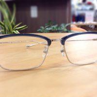 フォーナインズ 品番:M-65 カラー:5202(ブルーグレー×シルバー) レンズサイズ:54ミリ