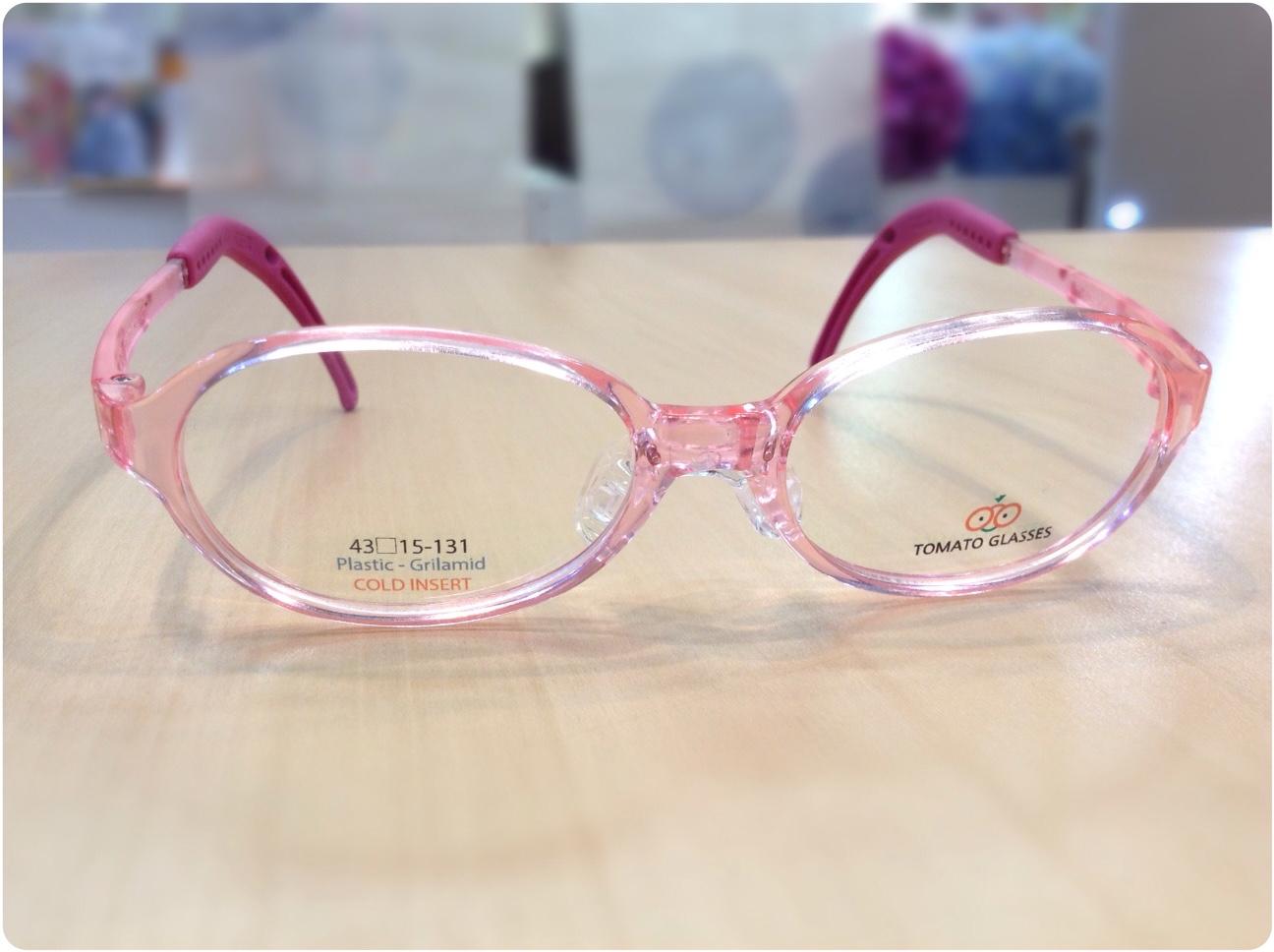 トマトグラッシーズ 品番:TKAC14 カラー:PK/CPKハート レンズサイズ:43ミリ