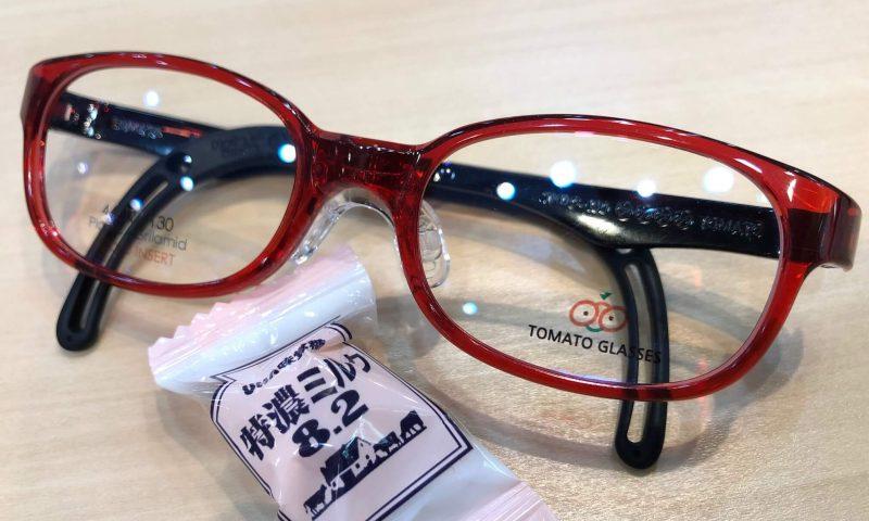 トマトグラッシーズ 品番:TKDC14 カラー:C.レッド/BK レンズサイズ:44ミリ