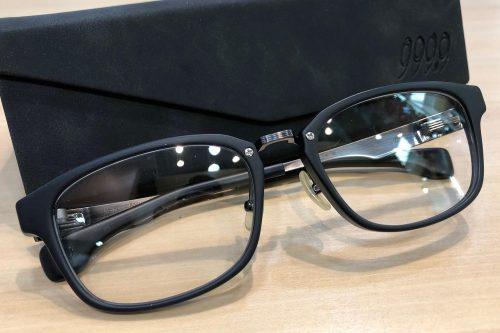 フォーナインズ 品番:M-35 カラー:5211(ブルーグレーマット × アンティークグレー) レンズサイズ:53ミリ