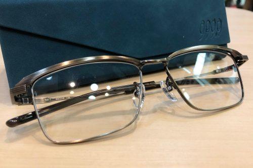 フォーナインズ 品番:S-941T  カラー:3(アンティークゴールド) レンズサイズ:54ミリ